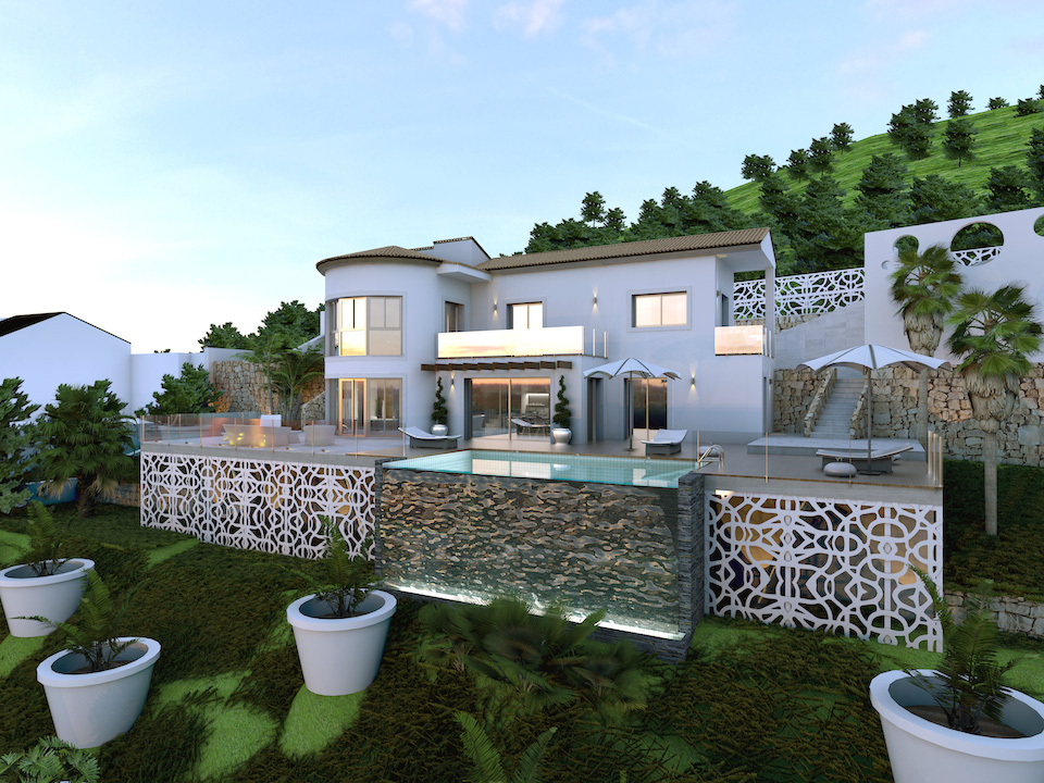 refurbished villa for sale Denia 1