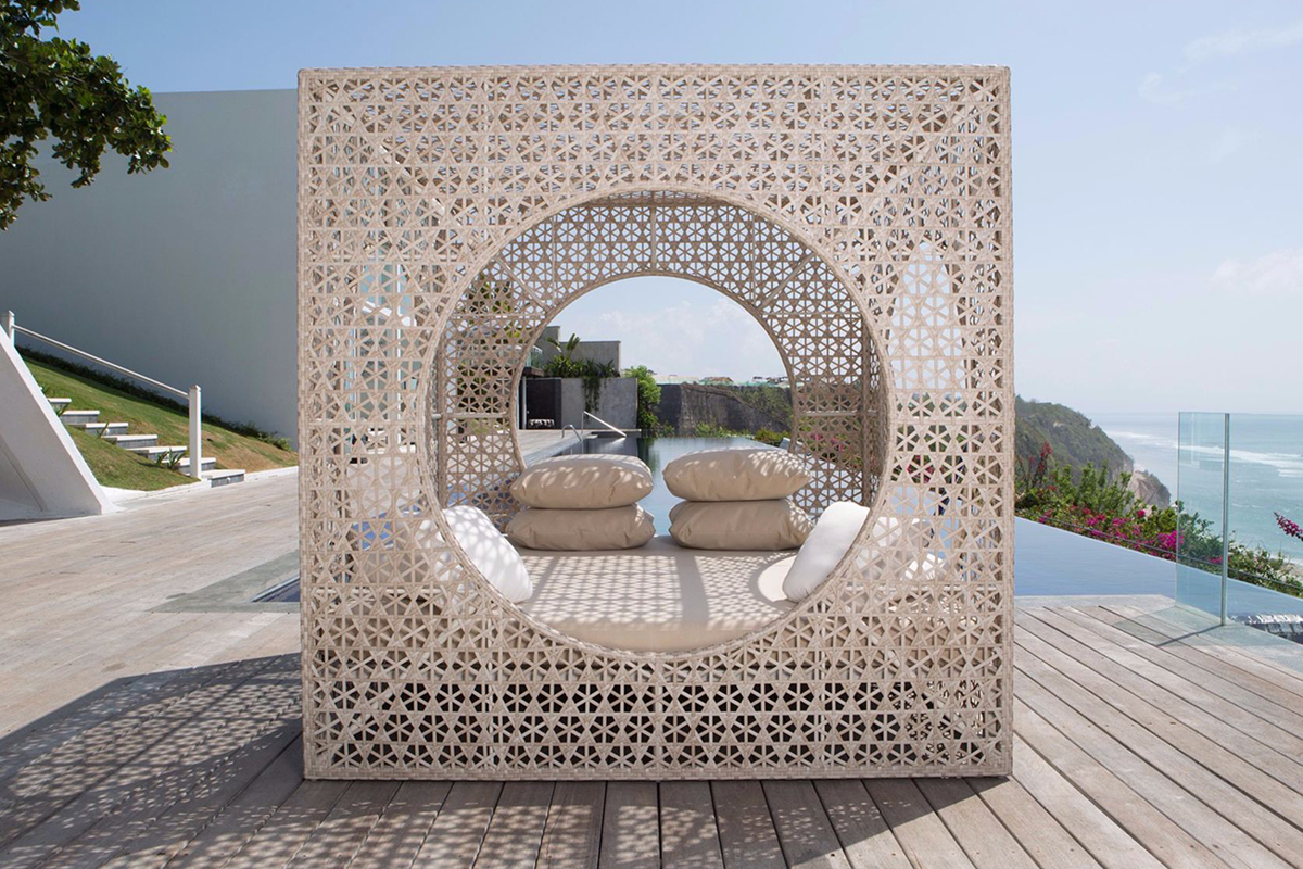 Exclusive tropical wood furniture at garcia mobles for Outdoor furniture javea