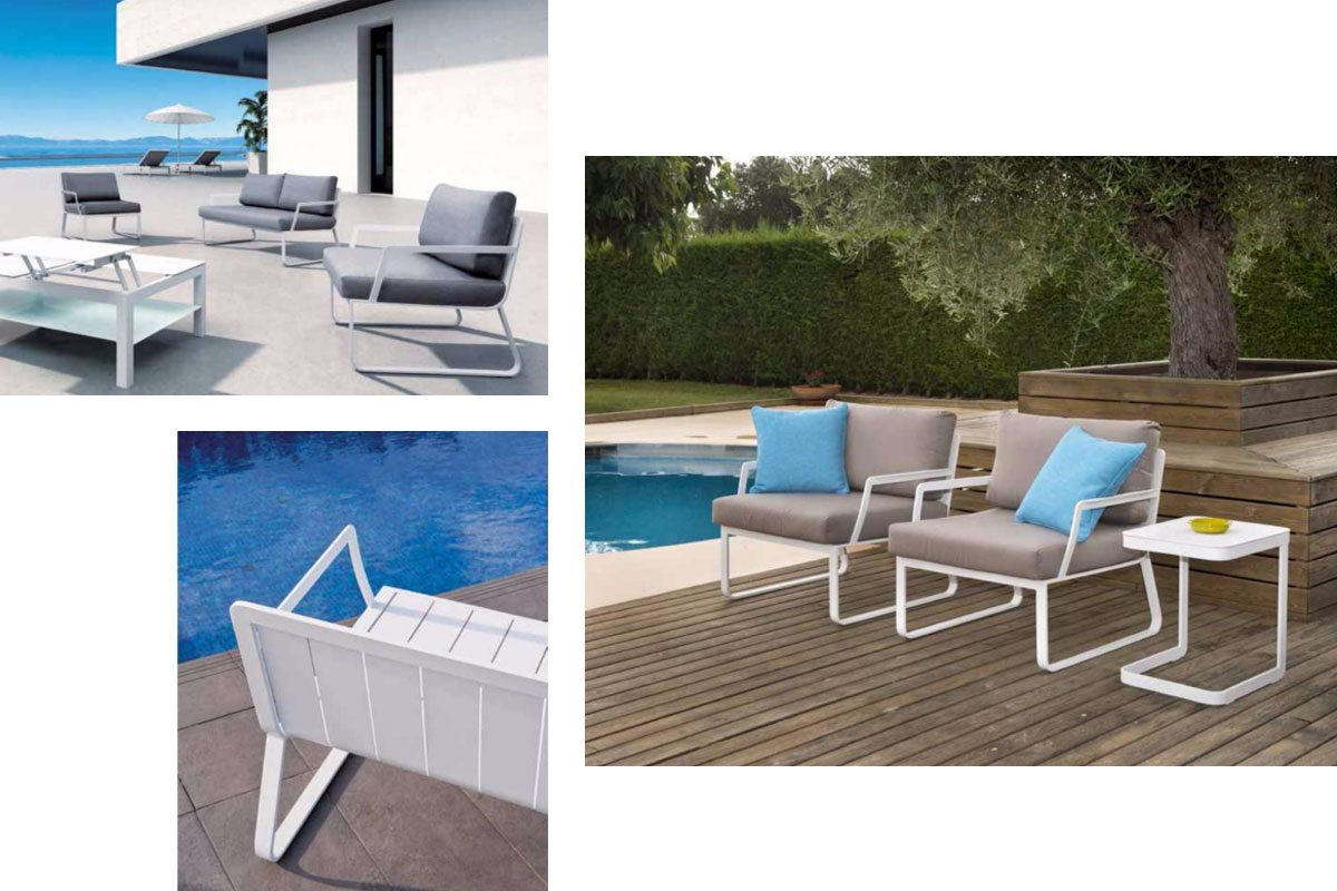 Mcj biard mediterranean designs for outdoor furniture for Outdoor furniture spain