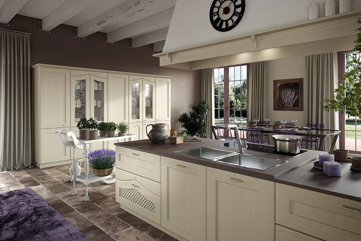 Ducale Vintage Kitchen A Splendid Blend Of Traditional Style And - Ducale-kitchen-design-by-arrital-cucine