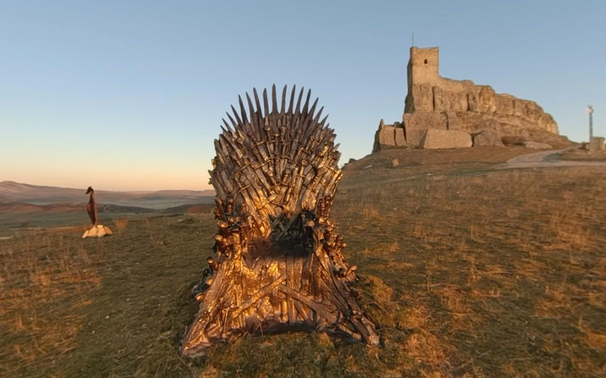 Find the Iron Throne of Game of Thrones