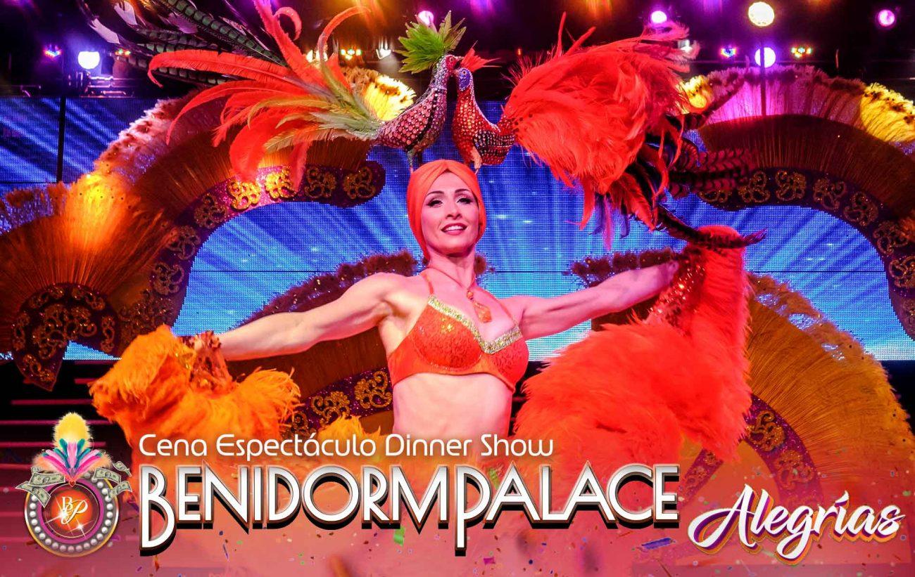 Be dazzled by the variety show Alegrías del Benidorm Palace