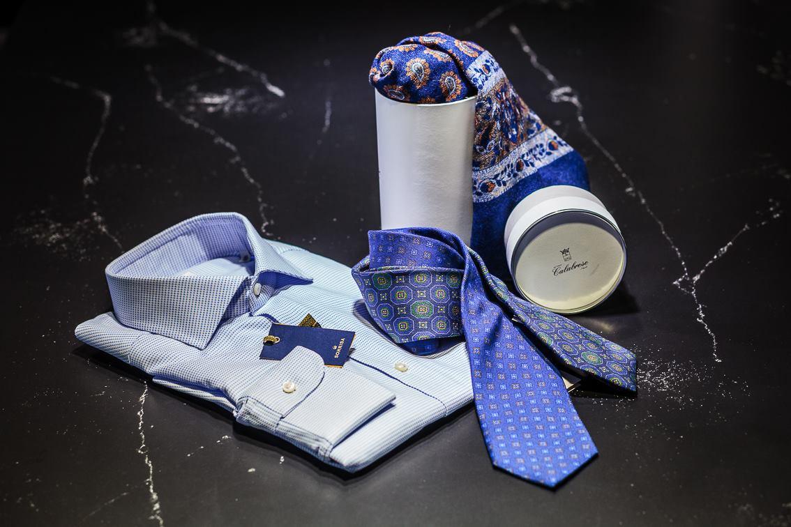 Menswear of the highest range in Camarena Moda Home