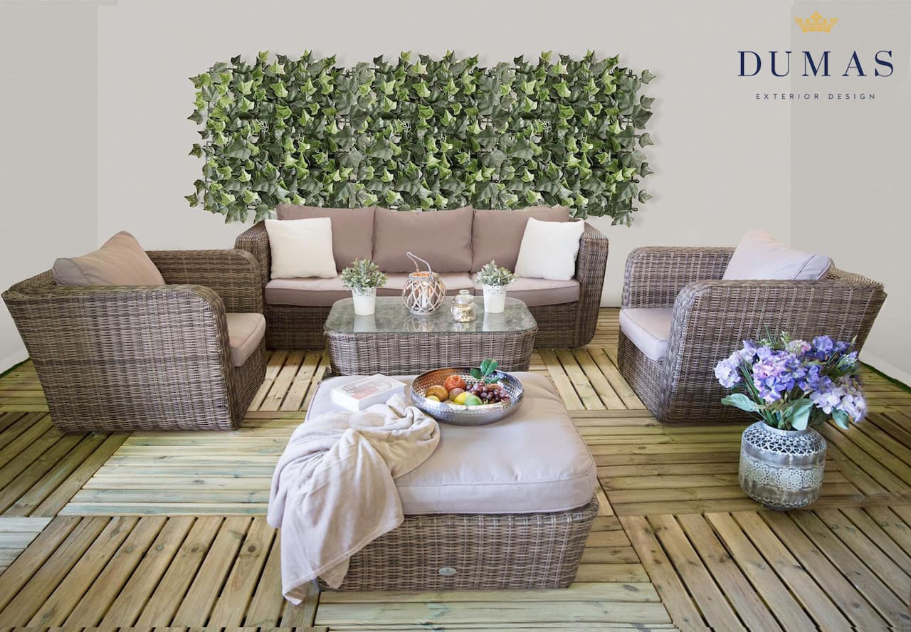 Dumas Exterior Design has the best outdoor furniture