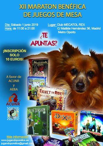 All benefits of Jugando por ellos are for animal shelters