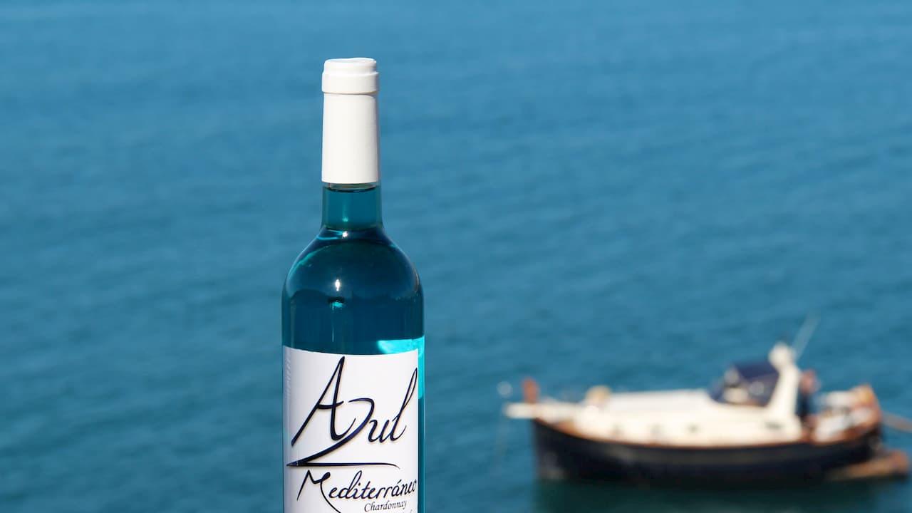 Where to taste the best blue wine