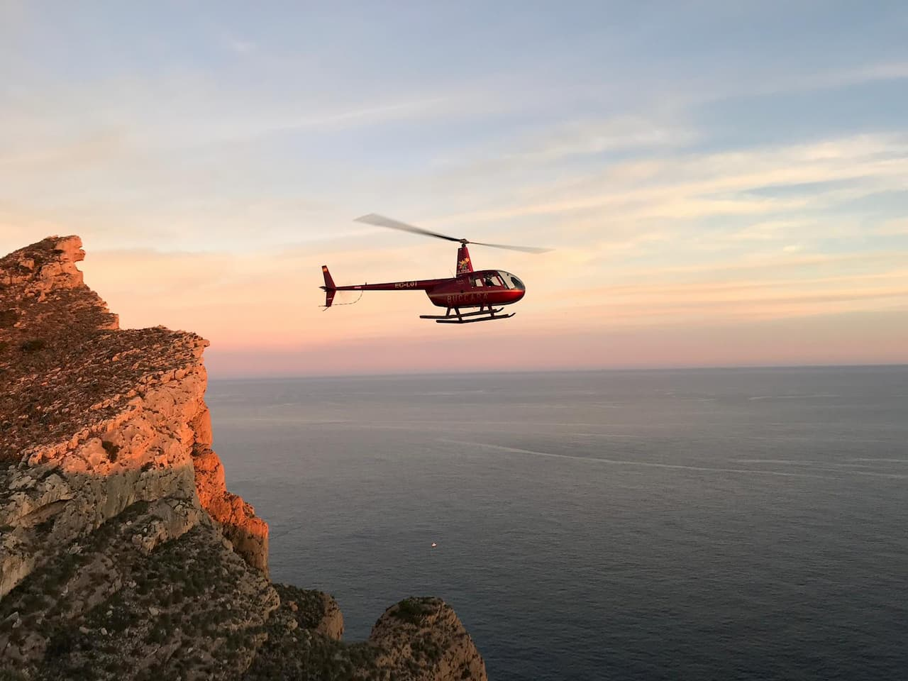 Helicopter tours in Benidorm