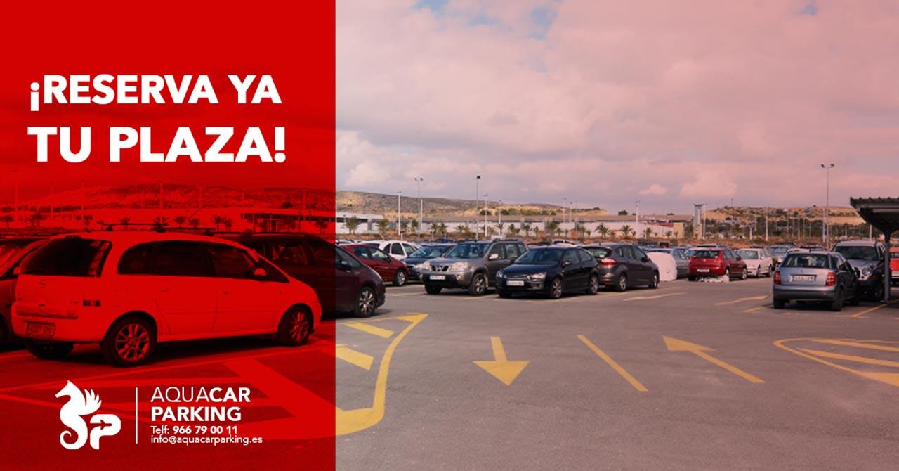 AquaCar Parking, next to Alicante airport