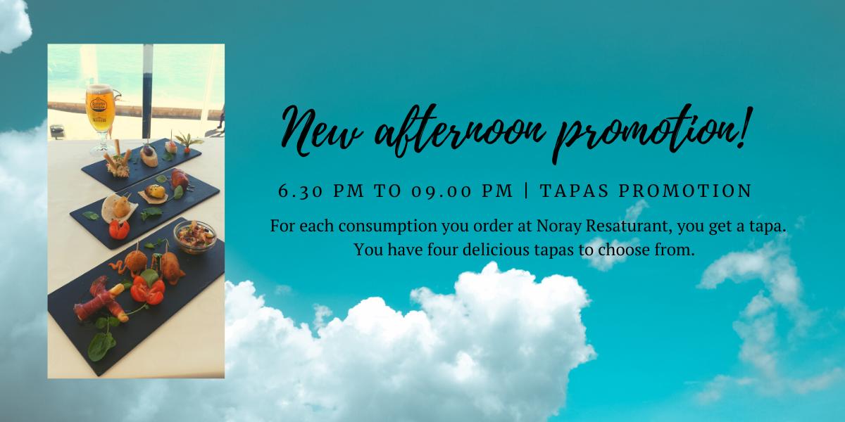 Noray Restaurant Tapas promotion